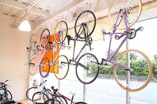 自転車展示